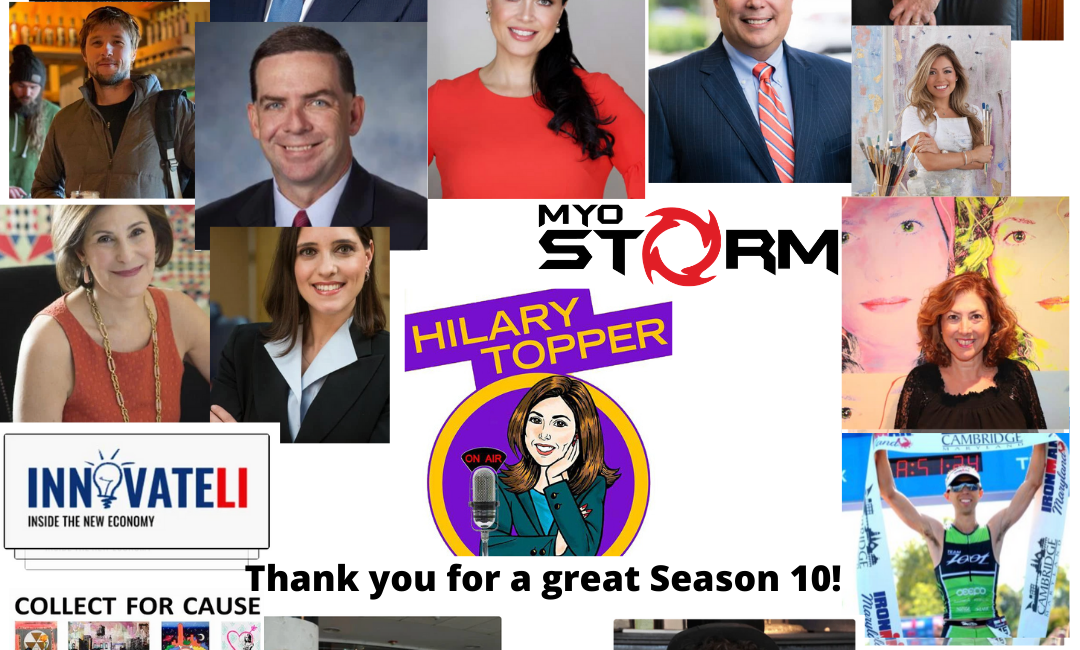 Season 10 guests Hilary Topper on Air